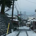 2018年1月2日、金沢市積雪風景