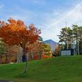 1.紅葉と磐梯山