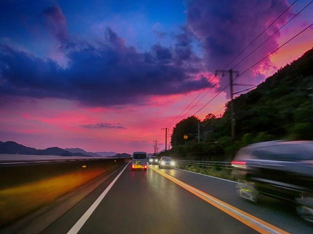 写真: 尾道トワイライトタイム