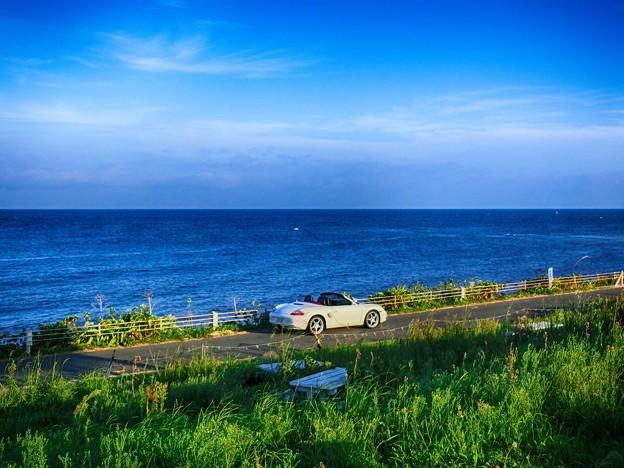 写真: 角島の先端にて