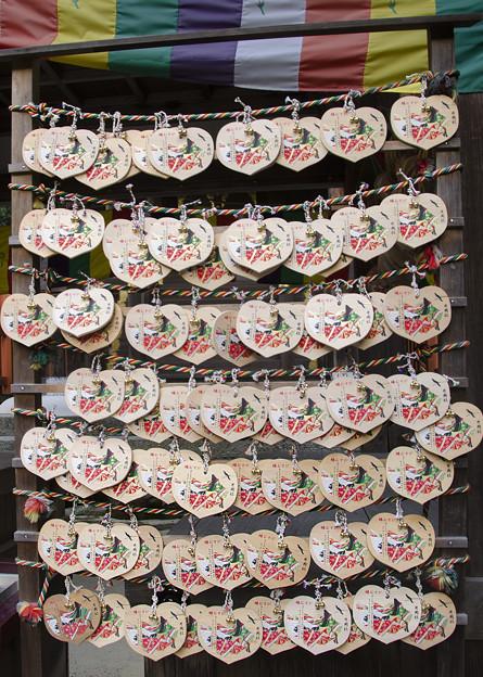 上賀茂神社片岡社の絵馬