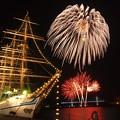 2017年帆船祭り花火2