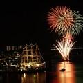 2017年帆船祭り花火4