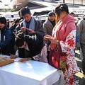 写真: 初詣・八坂神社2