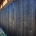 写真: 焼杉板