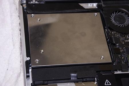 MacBookPro SSD交換&OptiBay導入作戦11