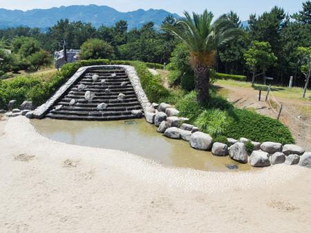 広野海岸公園 ジャブジャブ池