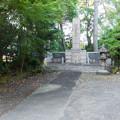 Photos: 駐車場脇の忠霊塔