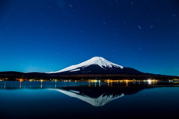 Photos: 山中湖 夜明け前