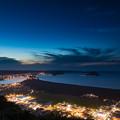 鏡山 夜景
