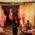 写真: 肉屋さん