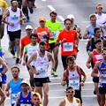 写真: マラソンランナー1)