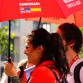 写真: 赤い傘