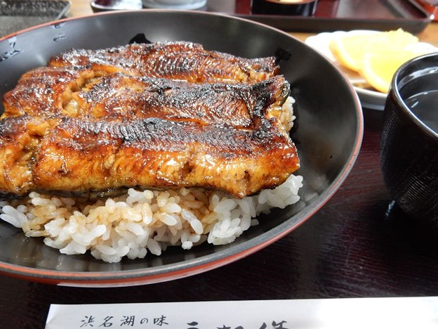 写真: DSCN1897 うな丼(梅)