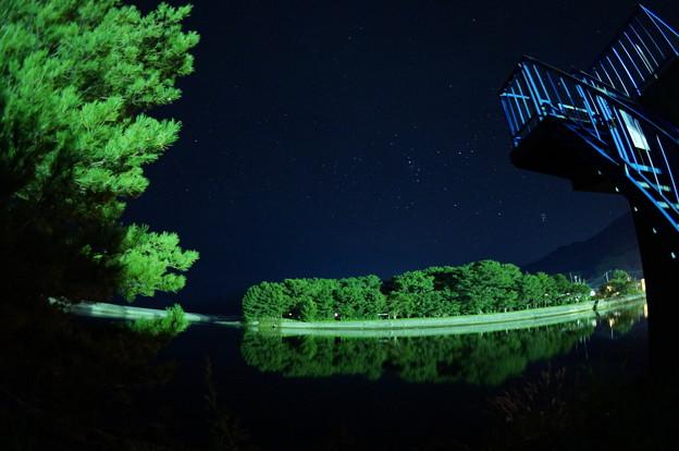 写真: 屋久島の星たち