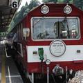 写真: トロッコ列車