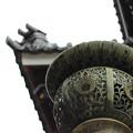 写真: 金柱灯籠頭部