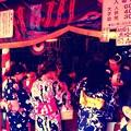 写真: 今も昔もお祭りはお化け屋敷~ヾ(・ω・`;)ノ