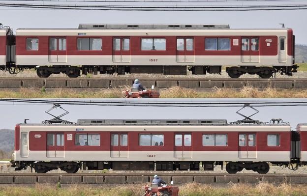 近鉄1440系1437F(VW37)山側 2010.03.14