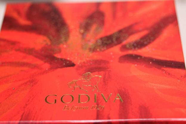 GODIVA Gateau au Chocolat(ゴディバ ガトー オ ショコラ)箱