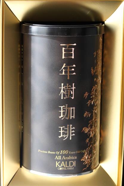 KALDI Precious Beans Of 100 Years Old Coffee Tree 缶