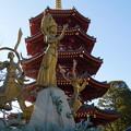 写真: 祈りと平和の像