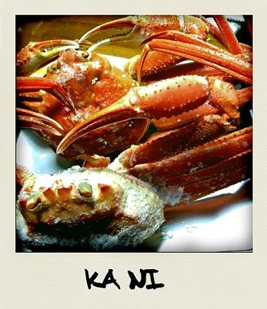 Le crabe de la mer du nord
