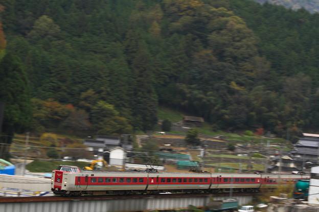 伯備線井倉駅付近