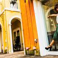 写真: 長靴カッレを歩こうね