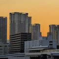 Photos: 夕陽の街