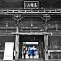 写真: 高幡山金剛寺仁王門