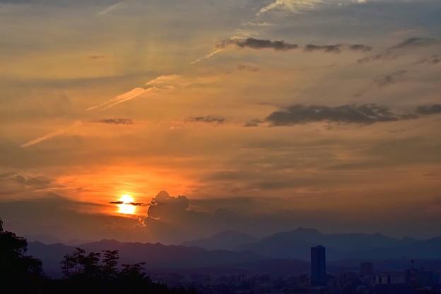 夕陽(170715)
