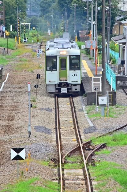 誰もいない駅(2)