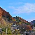 残秋の山々