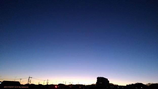 Photos: 朝焼け(171228)