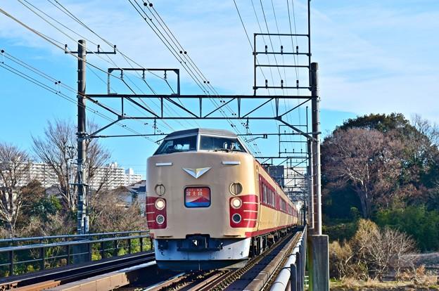 国鉄色富士山号