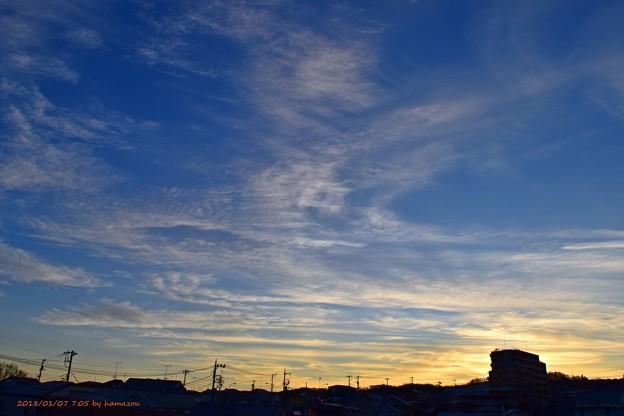 Photos: 朝日(180107)