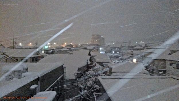 写真: 4年ぶりの大雪