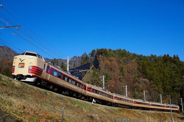 Photos: 189系M51編成「ホリデー快速富士山」@三つ峠~寿