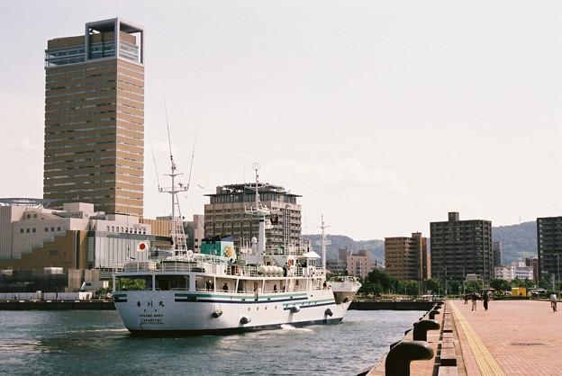 接岸間近の香川丸