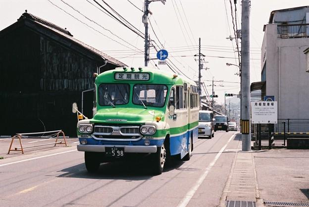 四国交通のボンネットバス