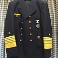 Photos: ナチスドイツ海軍の提督用リーファージャケットに勲章を付けました。