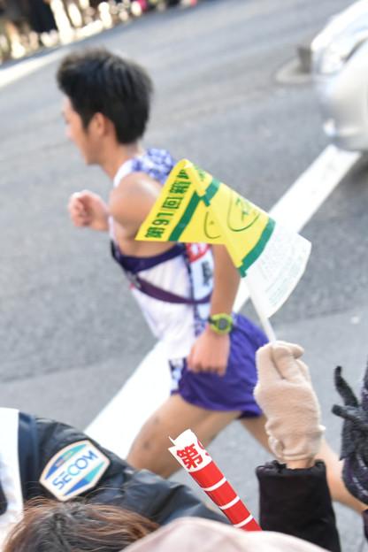 箱根駅伝、2位の駒大