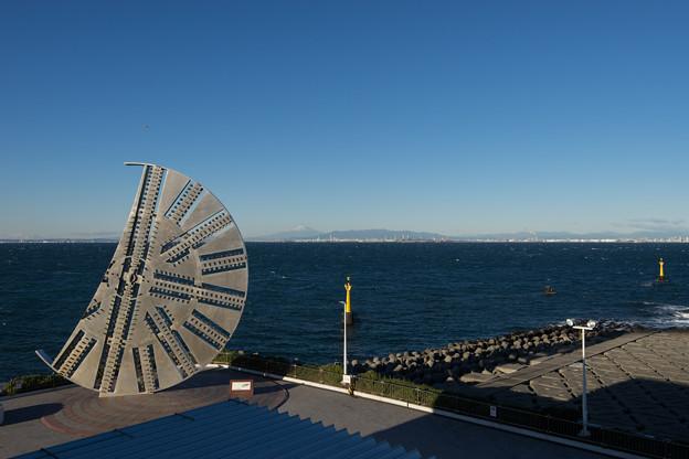 海ほたる【巨大モニュメント】2
