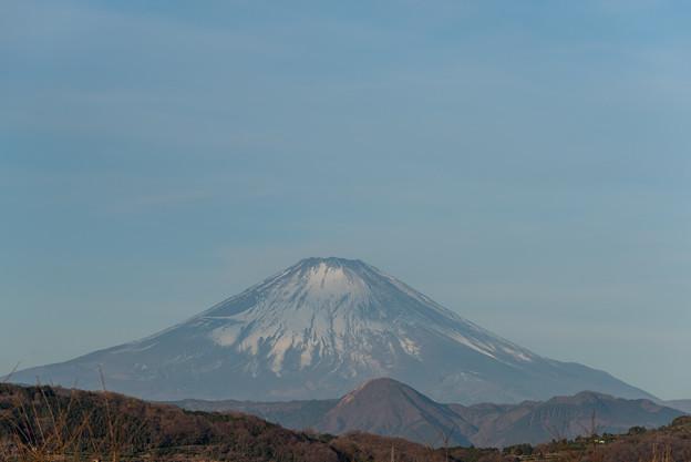 【吾妻山公園からの富士山の眺め】