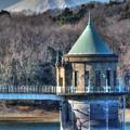 狭山の取水塔