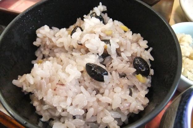 篠山黒豆ご飯