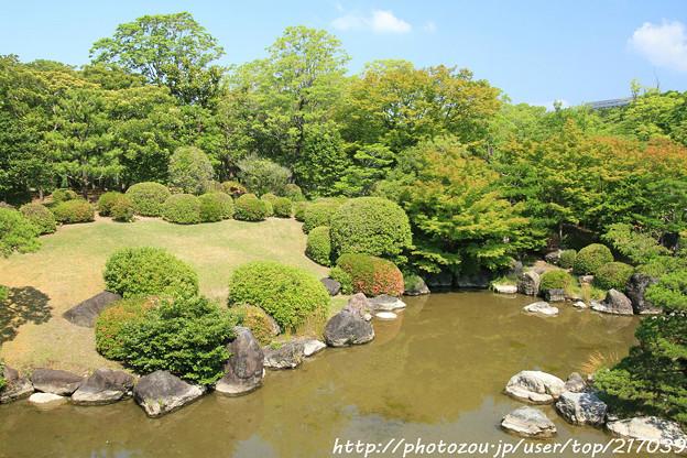 IMG_5528日本庭園・心字池