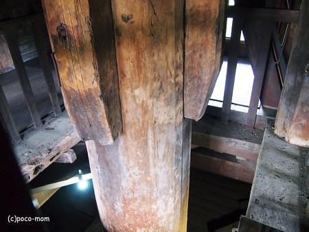 法観寺 五重塔 八坂の塔の内部2014年05月04日_P5040852