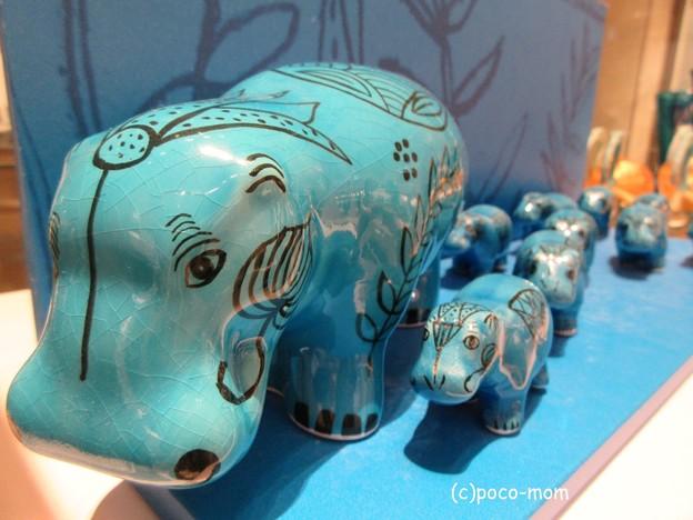 写真: ルーヴル美術館ショップ 青カバIMG_0097